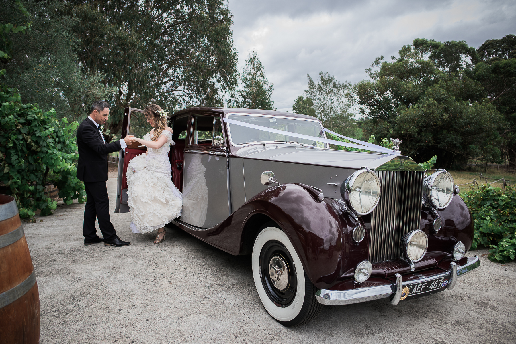 Wedding Transport Melbourne Triple R Luxury Car Hire 1 Wedding