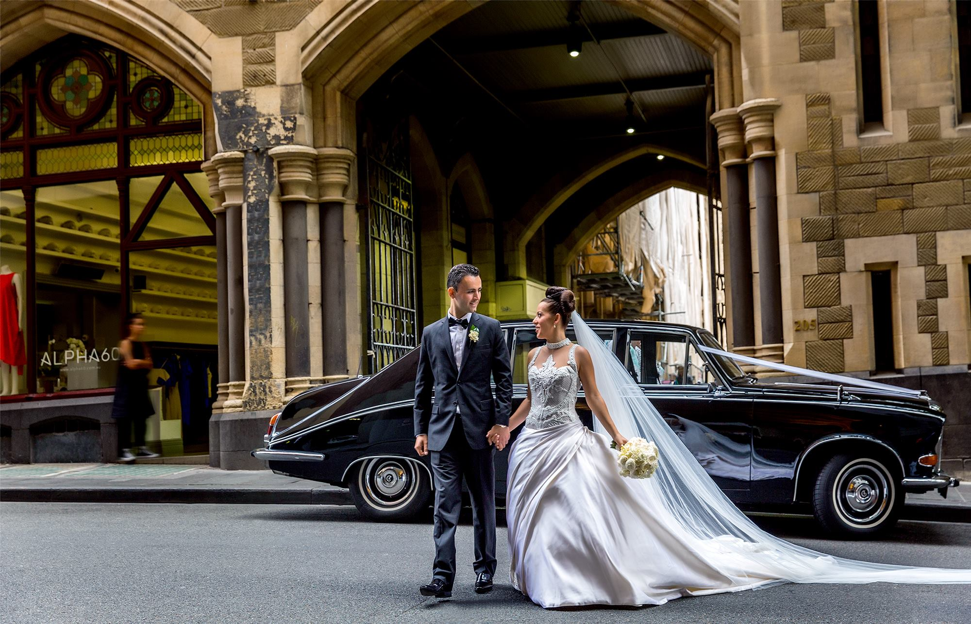 Triple R Luxury Car Hire Wedding Transport Matt Jefferies