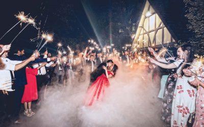 Wedding DJ Hire Melbourne – Presenting Sparkler Exits