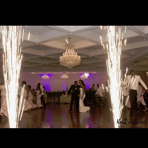 Matt Jefferies Entertainment - Indoor Wedding Fireworks Melbourne
