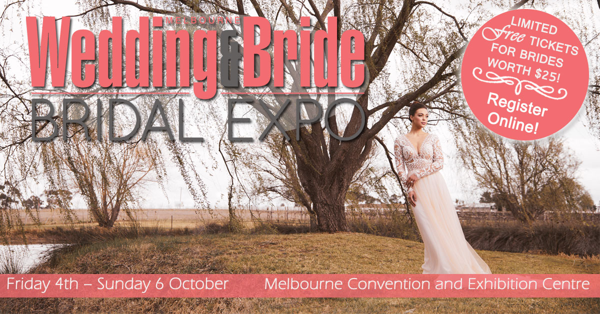 Matt Jefferies at the Melbourne Wedding Expo - Wedding and Bride Bridal Expo Spring 2019