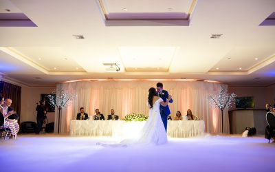 DJ Services Yarra Valley – Dry Ice and Fireworks – Krystel and Matthew's Wedding