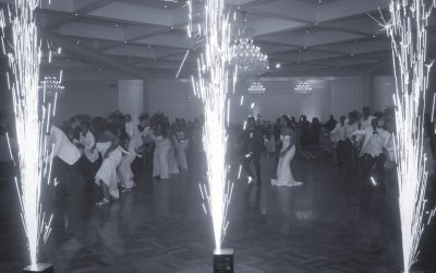 Wedding Fireworks Services Melbourne – Bride and Groom Entrance at Manor On High