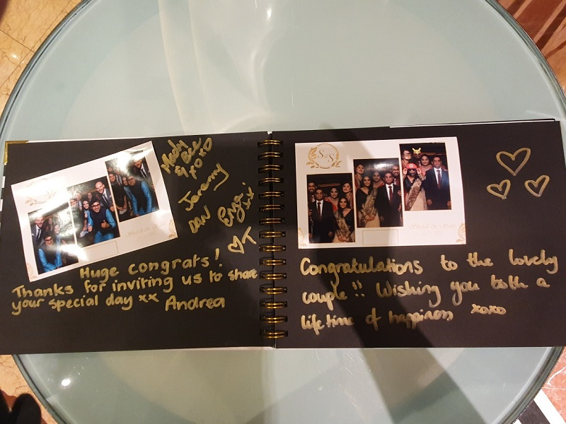 Mirror Photo Booth Melbourne Guest Book