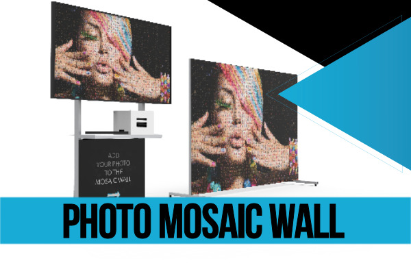 Photo Mosaic Wall Services